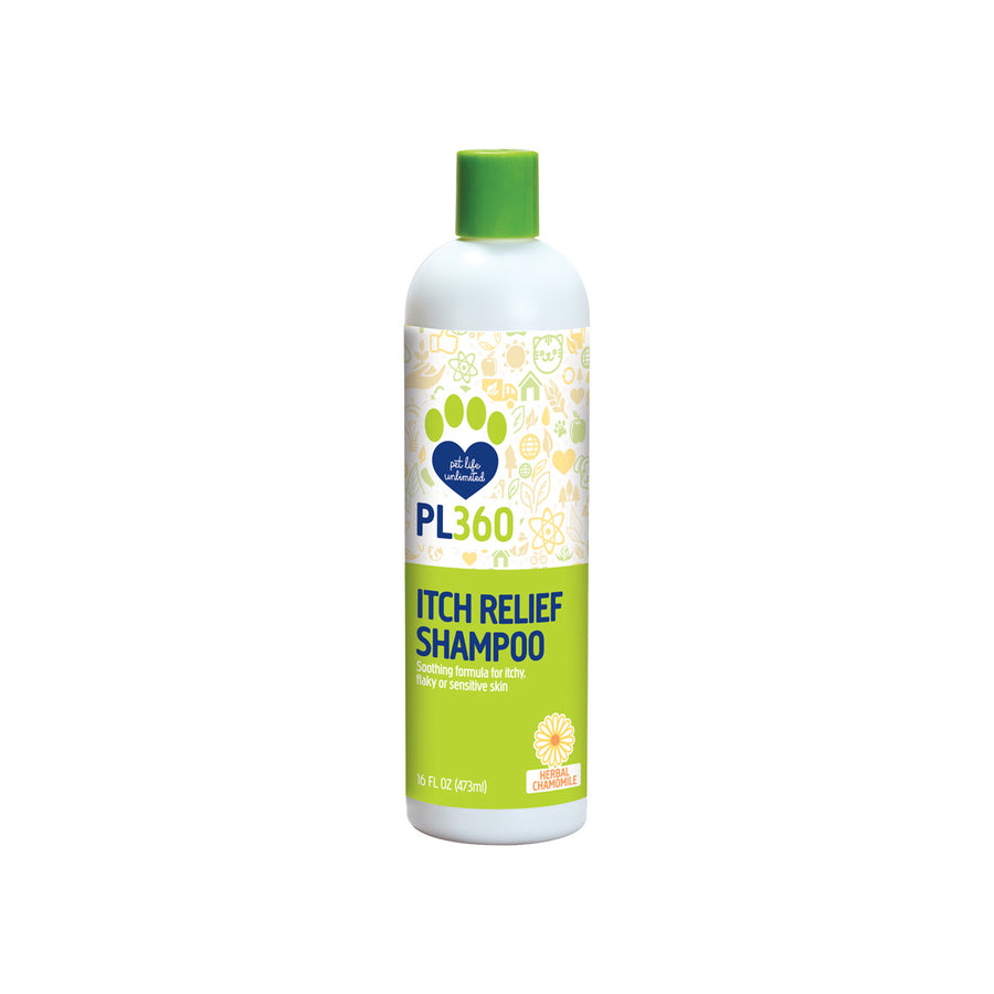 PL360 Itch Relief Shampoo for Dogs