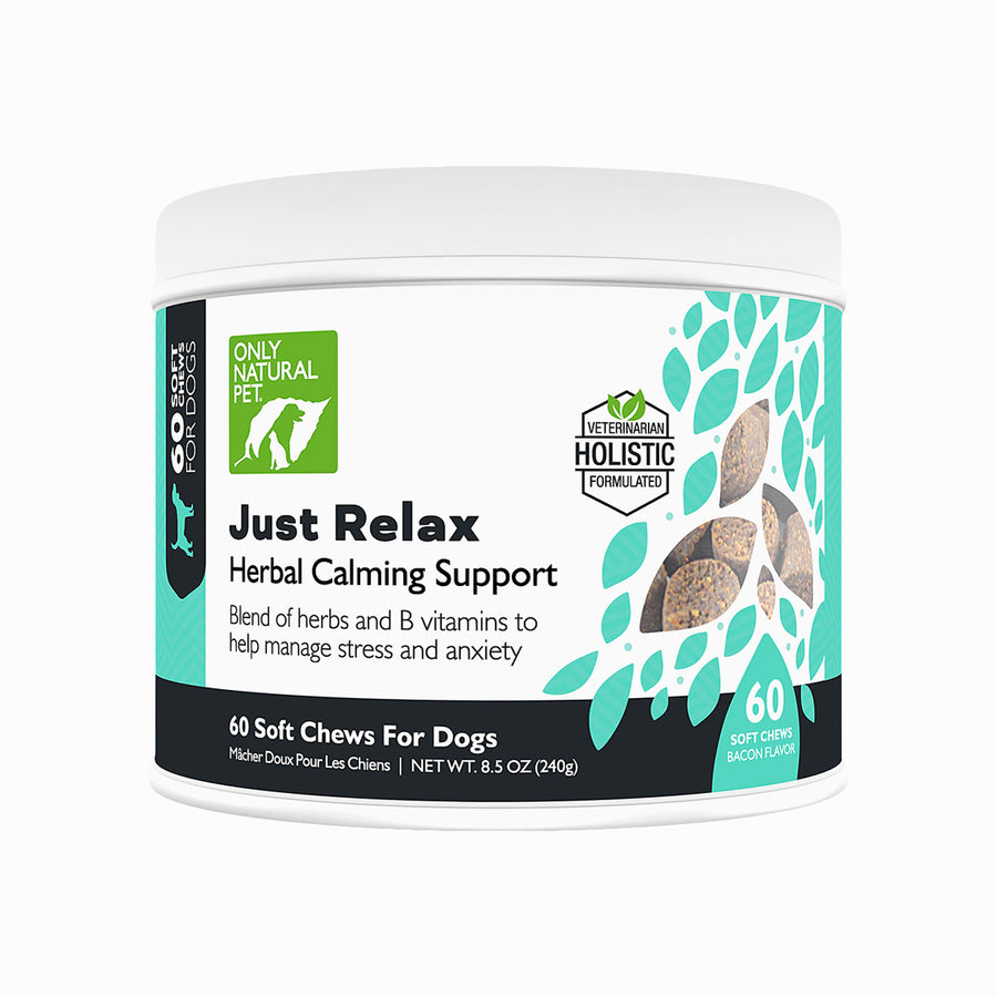 Only Natural Pet Just Relax Herbal Calming Soft Chews