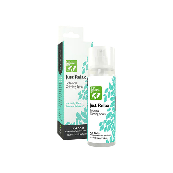 Only Natural Pet Just Relax Botanical Calming Spray for Dogs