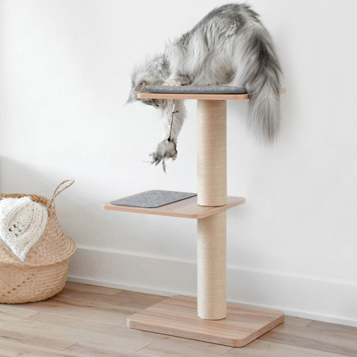 Beonebreed Cat Katt3 Evo Natural Cat Tree Only Natural Pet