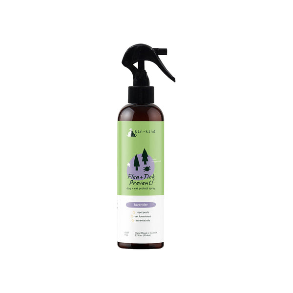 Kin + Kind Flea & Tick Protect Spray for Dogs & Cats