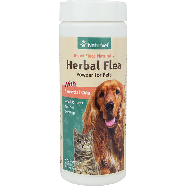 NaturVet Herbal Flea Repel Powder