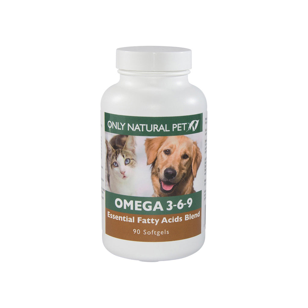 Only Natural Pet Omega 3 6 9 Supplement For Dogs Cats