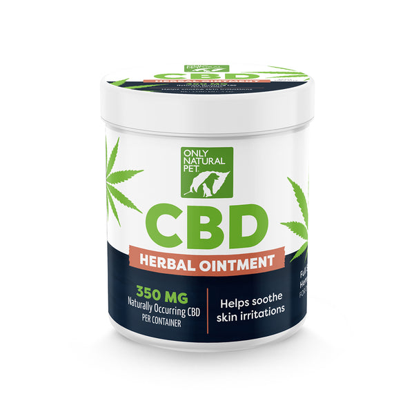 Only Natural Pet CBD Herbal Ointment for Dogs
