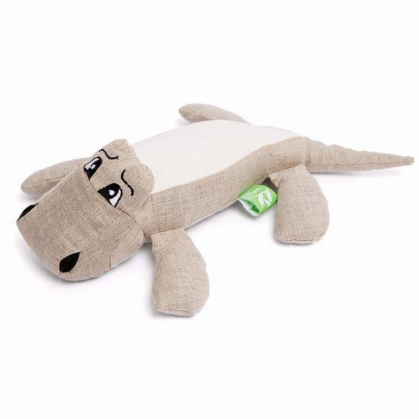 Only Natural Pet Hemp Alligator Dog Toy
