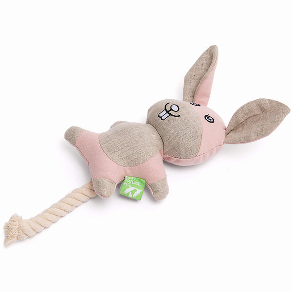 Only Natural Pet Hemp Bunny Dog Toy