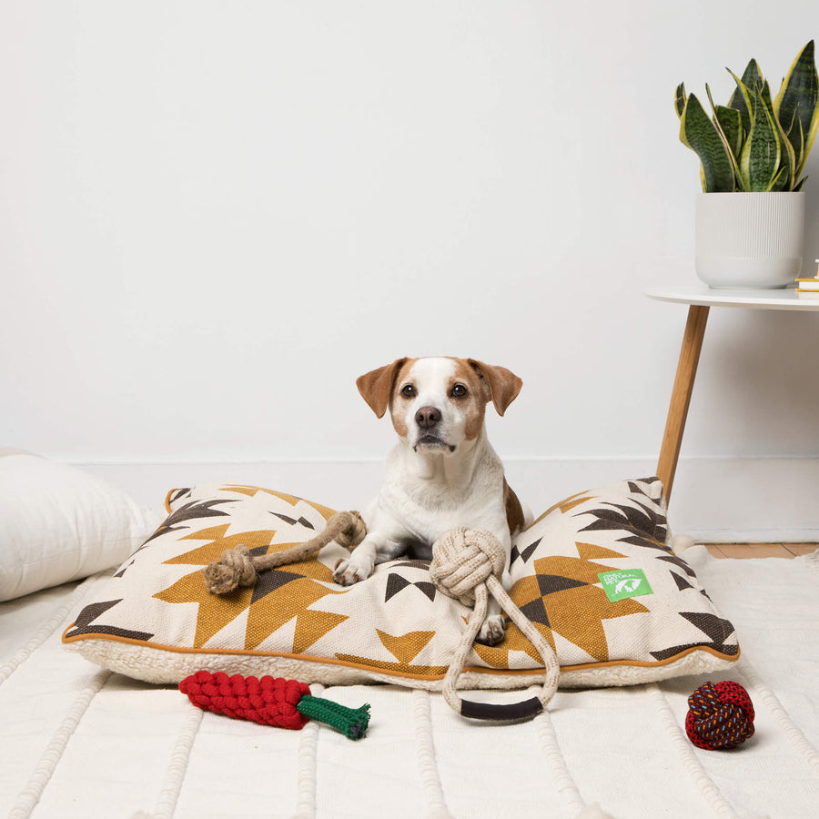 Only Natural Pet Eco-Friendly Regenerated Cotton Ball & Rope Dog Toy