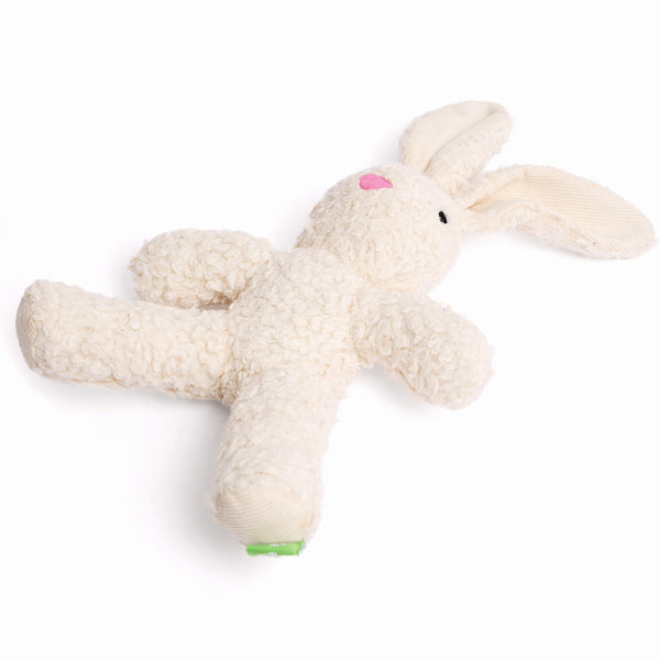 Only Natural Pet Organic Plush Rabbit Dog Toy