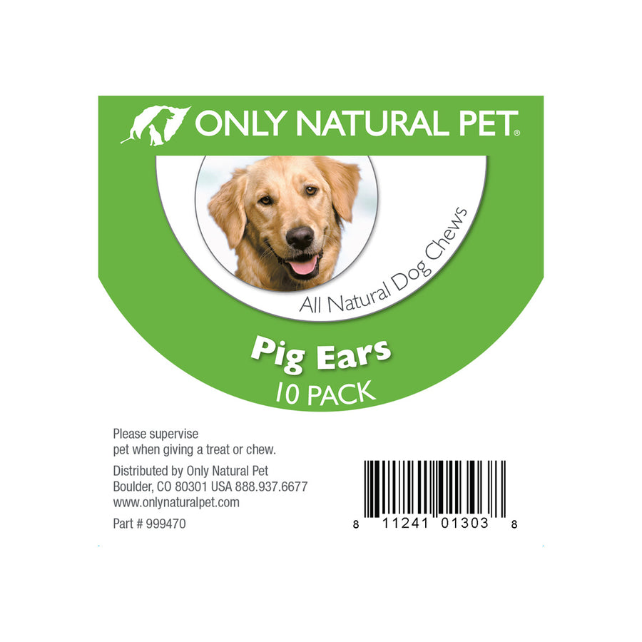 Only Natural Pet Pig Ear Dog Chew