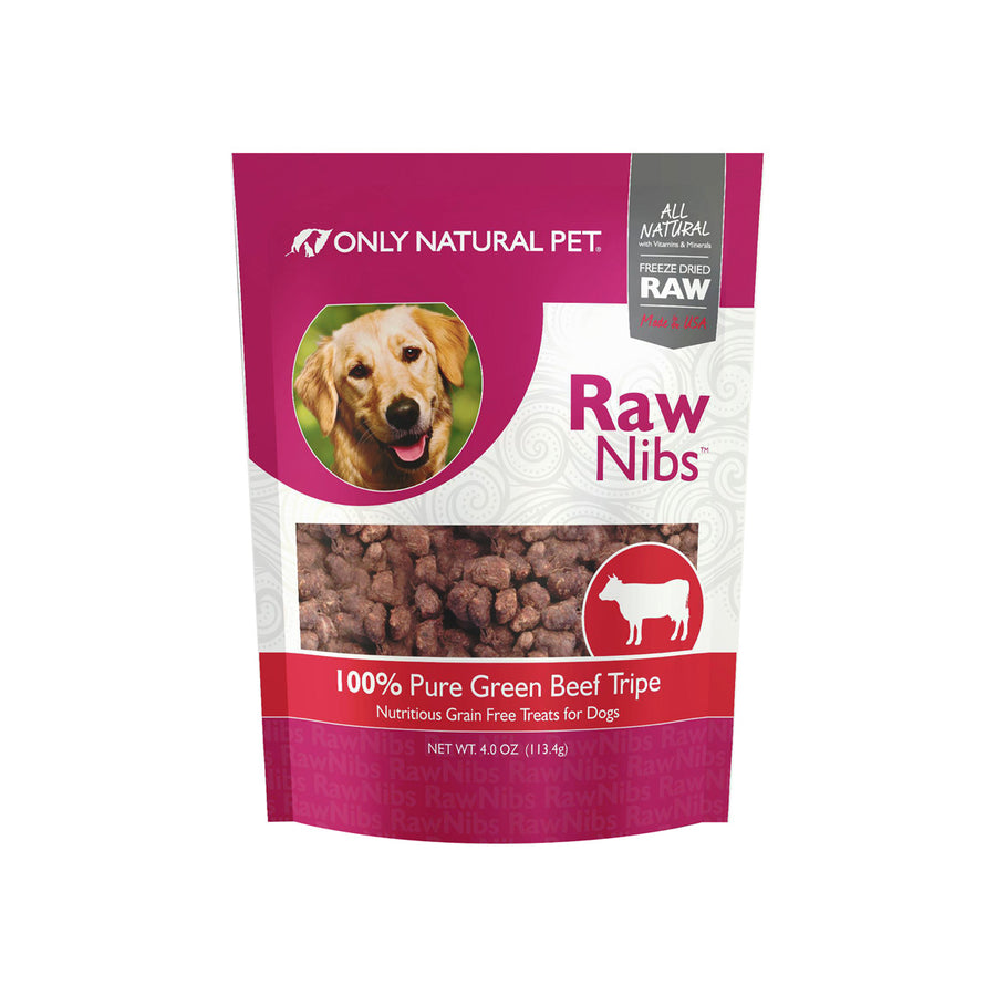 Only Natural Pet RawNibs Freeze-Dried Green Tripe Dog Treats