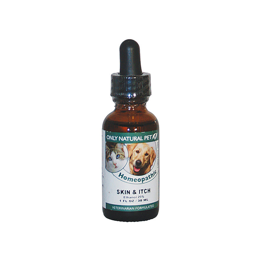 Only Natural Pet Skin & Itch Homeopathic Bottle