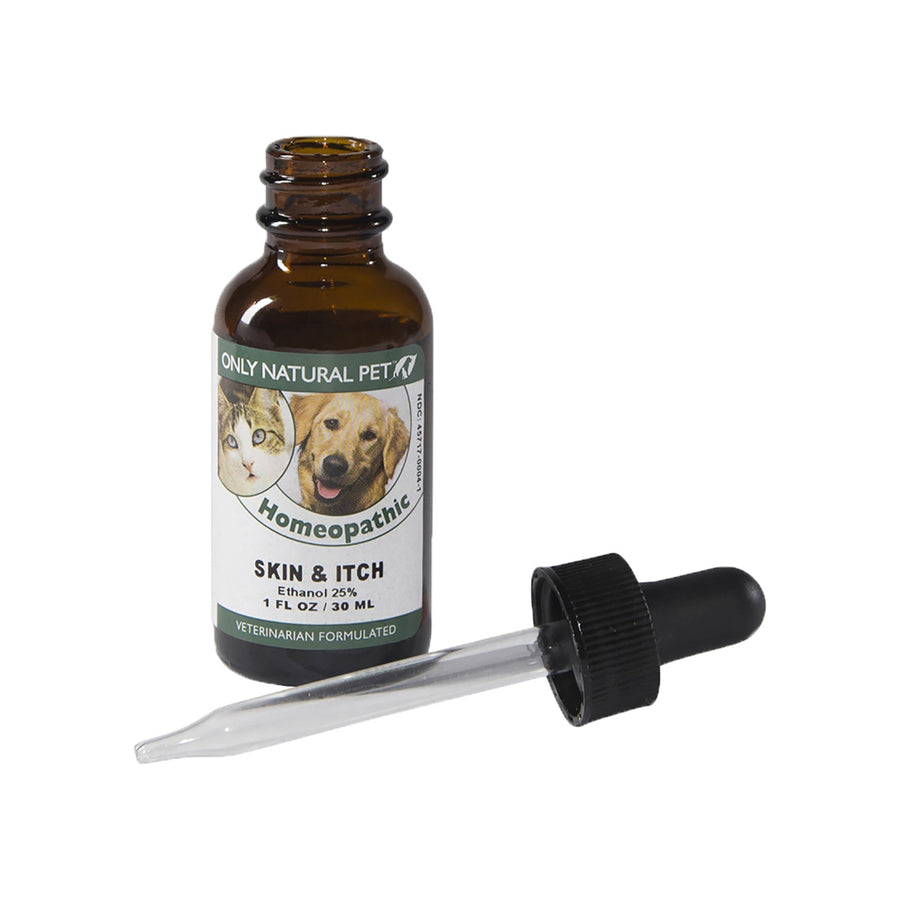 Only Natural Pet Skin & Itch Homeopathic Bottle with Dropper