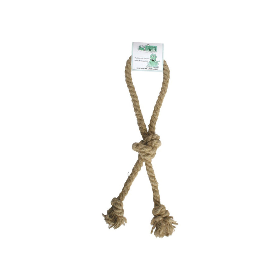 From the Field Tug-A-Loop Natural Dog Toy Large