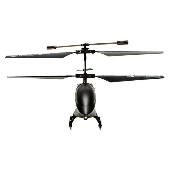 RC Helicopter S/E Matte Black 3.5 Channel with Gyro (Mini) Front