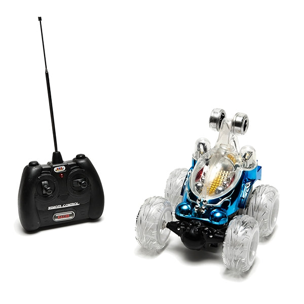 RC Car New Luna Stunt Blue with Remote