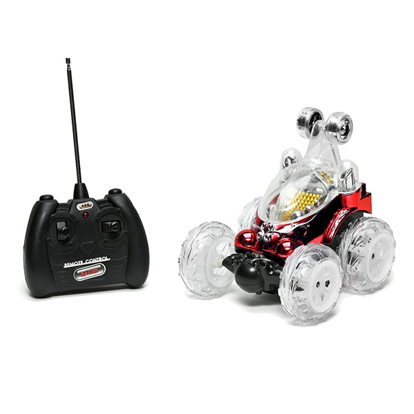 RC Car New Luna Stunt Red with Remote