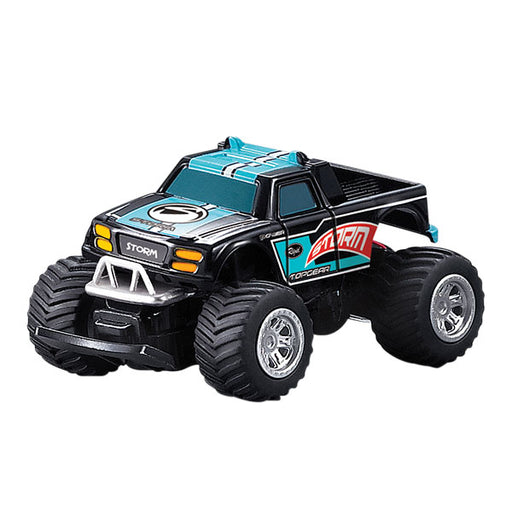 Mini RC Monster Truck Blue and Black