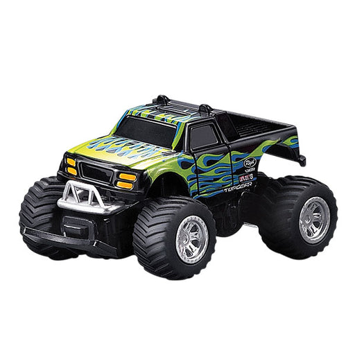 Mini RC Monster Truck Green and Black