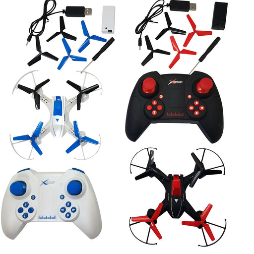 RC Air Combat Drones V2 with controllers and spare parts