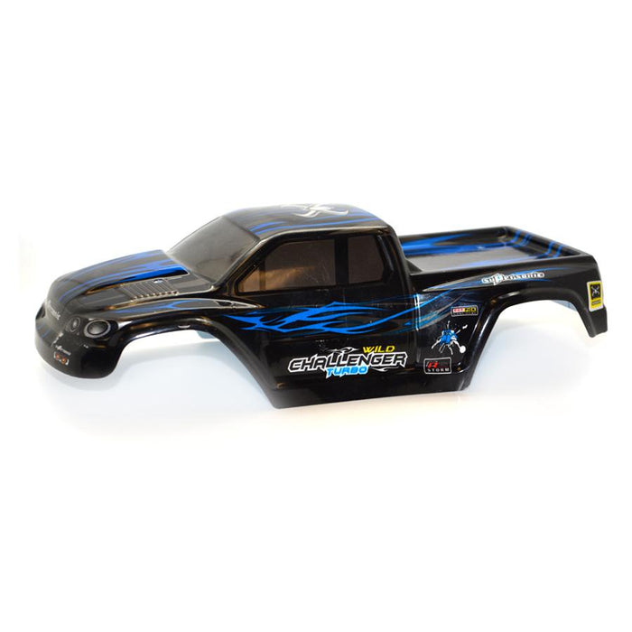 Black and blue spare shell for RC truck