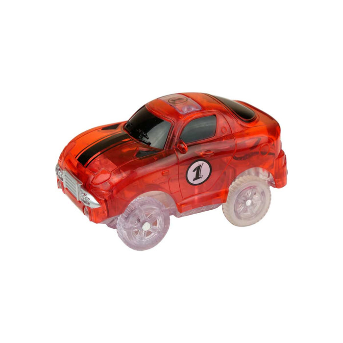 clik trax car red