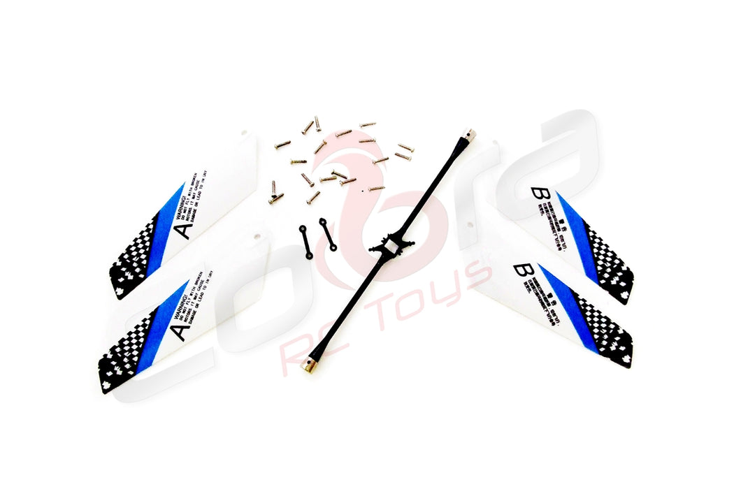 Spare Parts Kit for 909284 Cobra RC Heli 4 Ch w/Gyro 8088 (Mini)