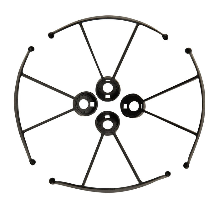 Set of 4 Propeller Guards for Cobra RC Toys Folding Pocket Drone black