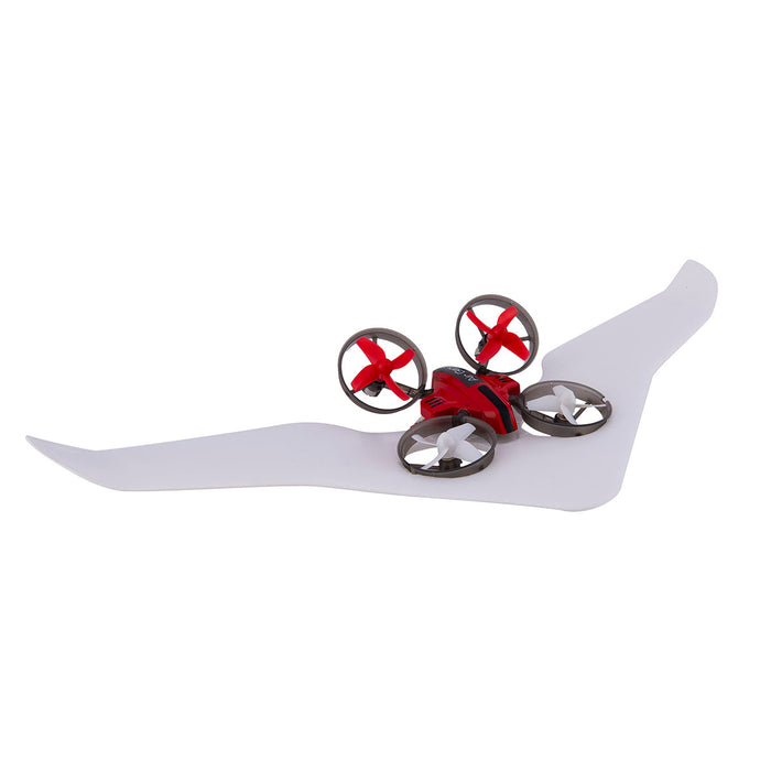 RC 3-in-1 Micro Drone as glider