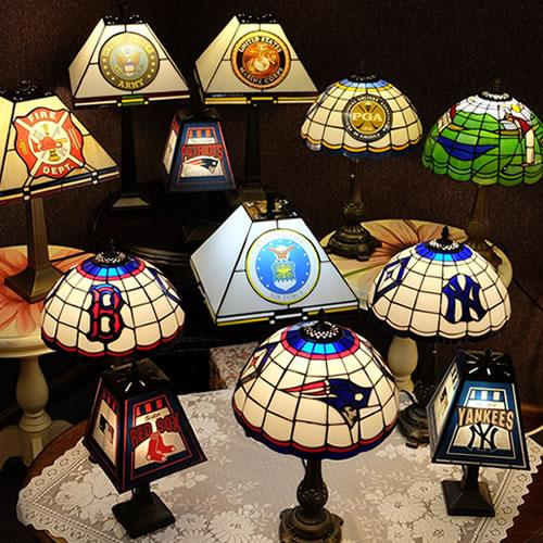 Sports Lamps from Memory Lane Lamps