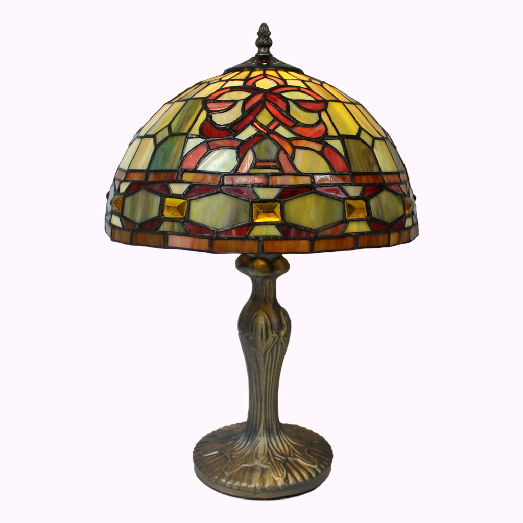 Amber Gems Tiffany Table Lamp