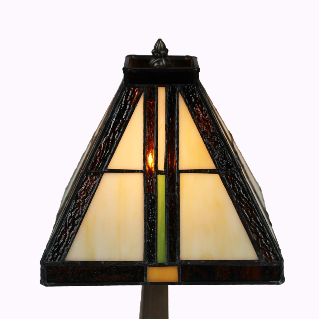 Amber Mission Accent Lamp