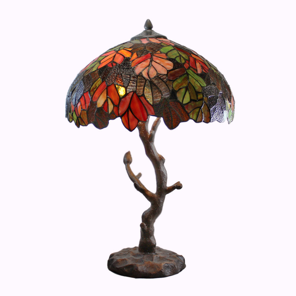 Autumn Tree Tiffany Accent Lamp
