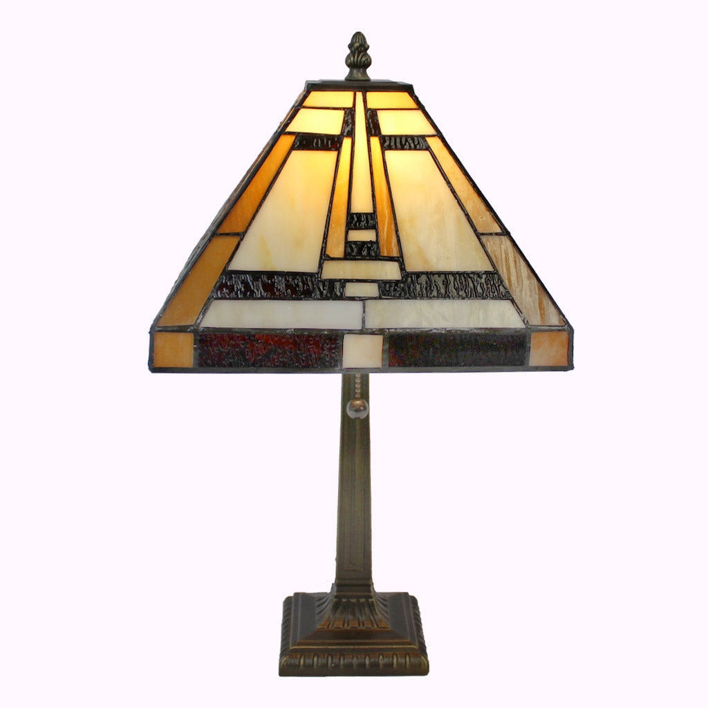 Aztec Mission Table Lamp