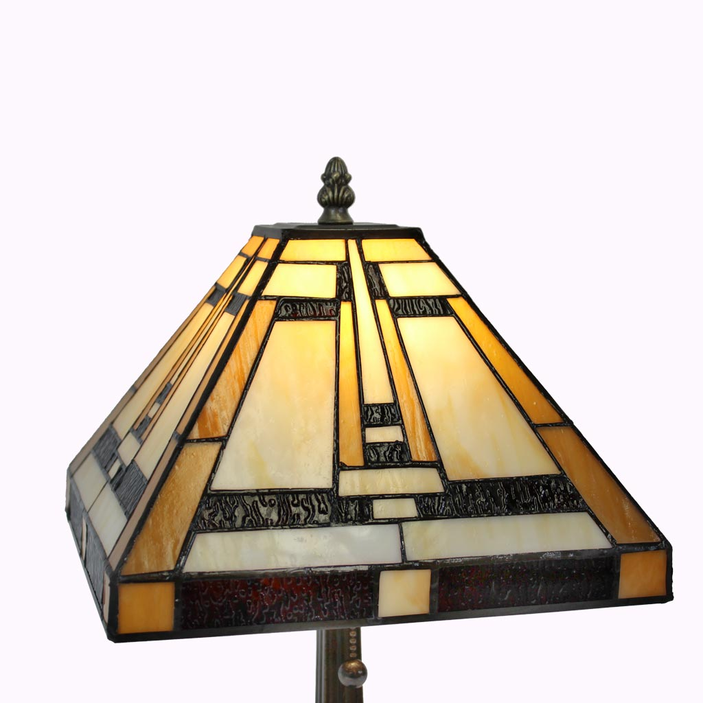 Aztec Mission Table Lamps