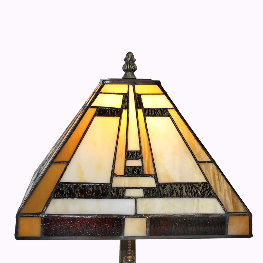 Aztec Mission Table Lamps from Memory Lane Lamps