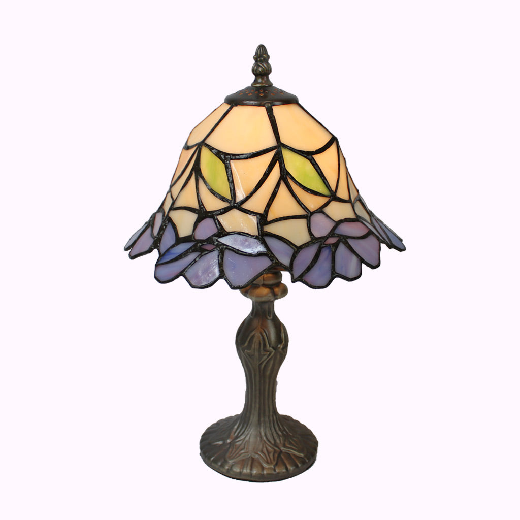 Blue Belle Tiffany Table Lamp from Memory Lane Lamps