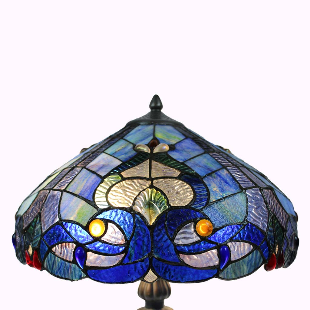 Blue Waters Tiffany Table Lamp