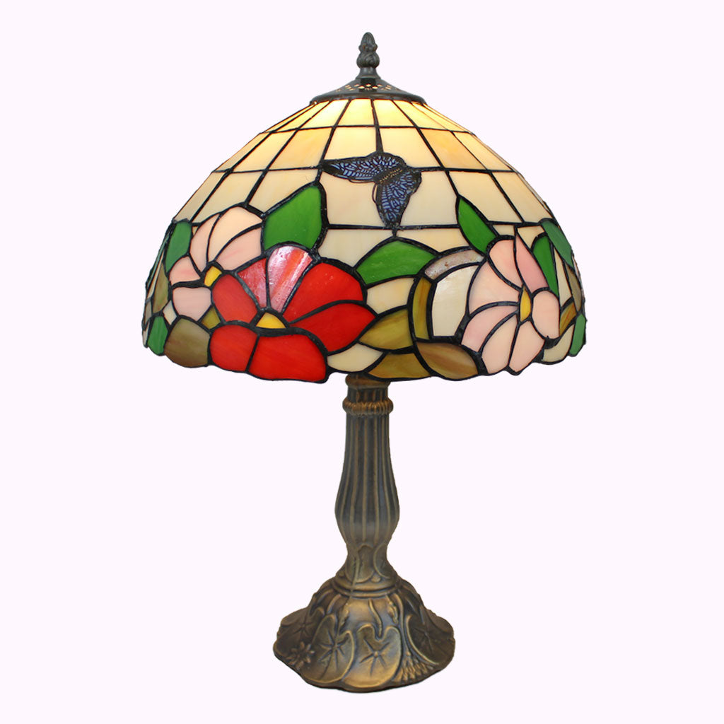 Butterflies in the Sunlight Tiffany Table Lamp