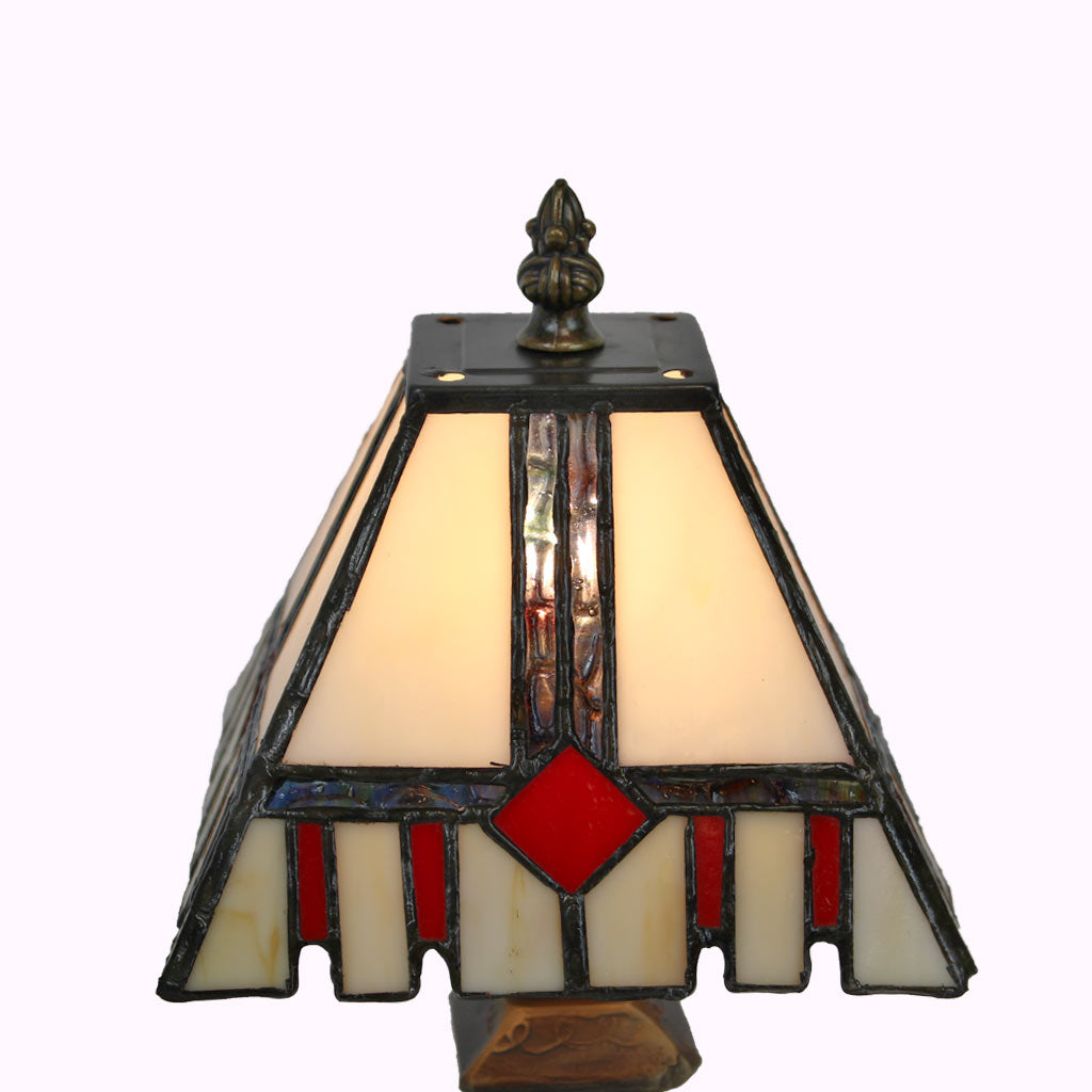 Castle-cut Mission Accent Lamp