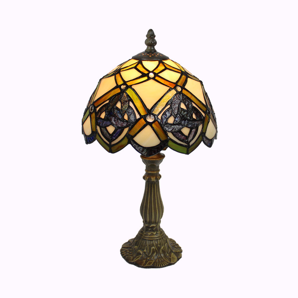 Celtic Eternity Knot Tiffany Accent Lamp