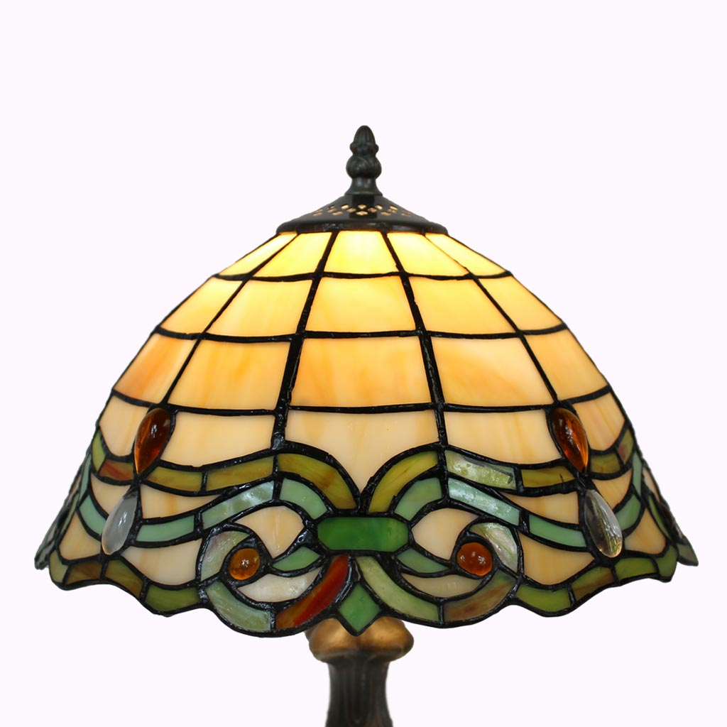 Celtic Jewels Tiffany Table Lamp from Memory Lane Lamps