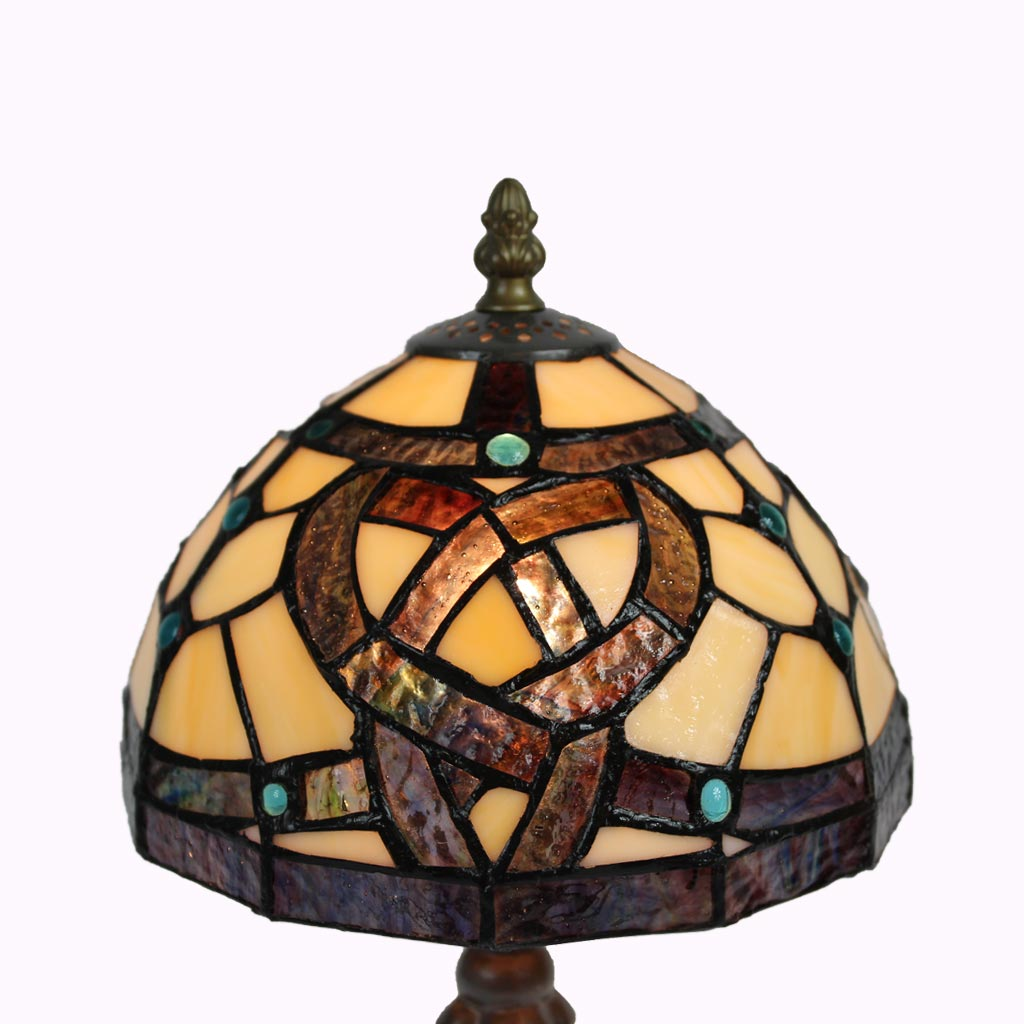 Celtic Pathway Tiffany Lamp from Memory Lane Lamps