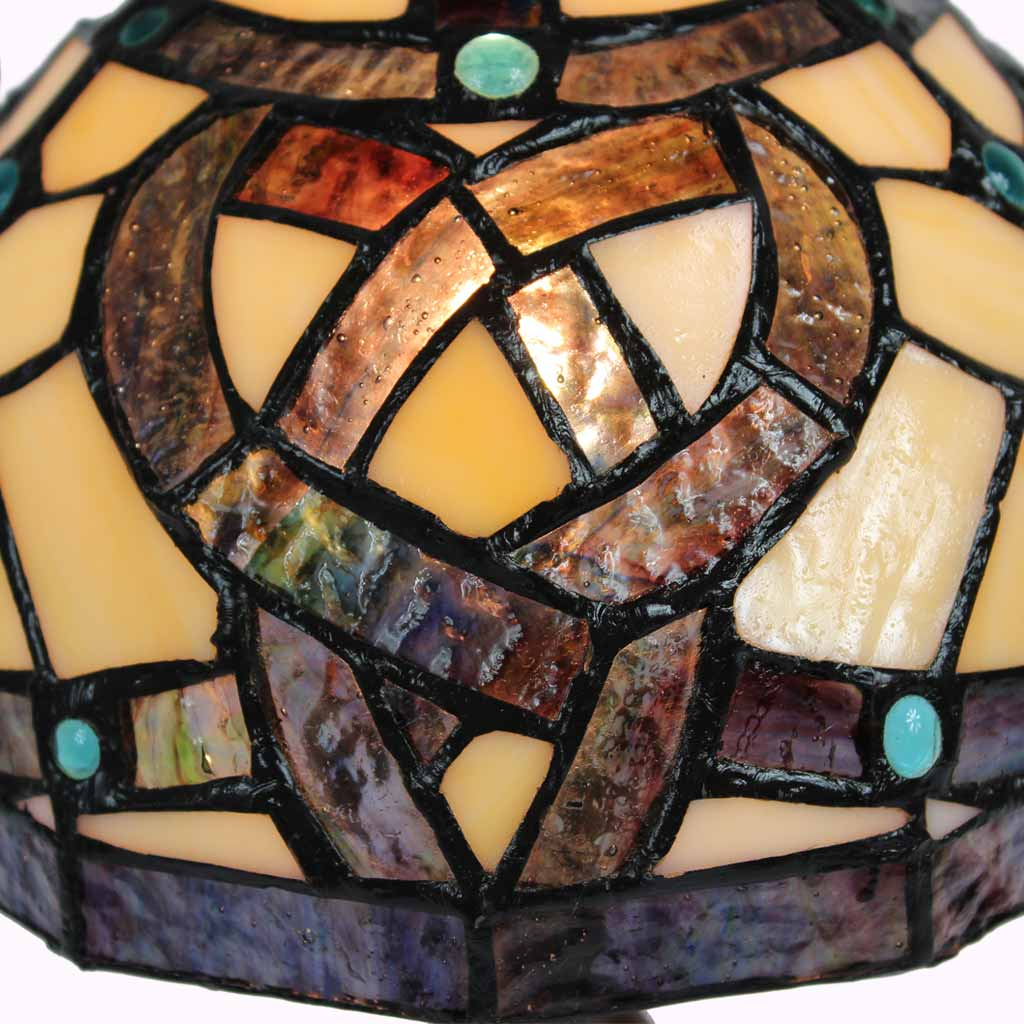 Celtic Knot Stained Glass from Memory Lane Lamps