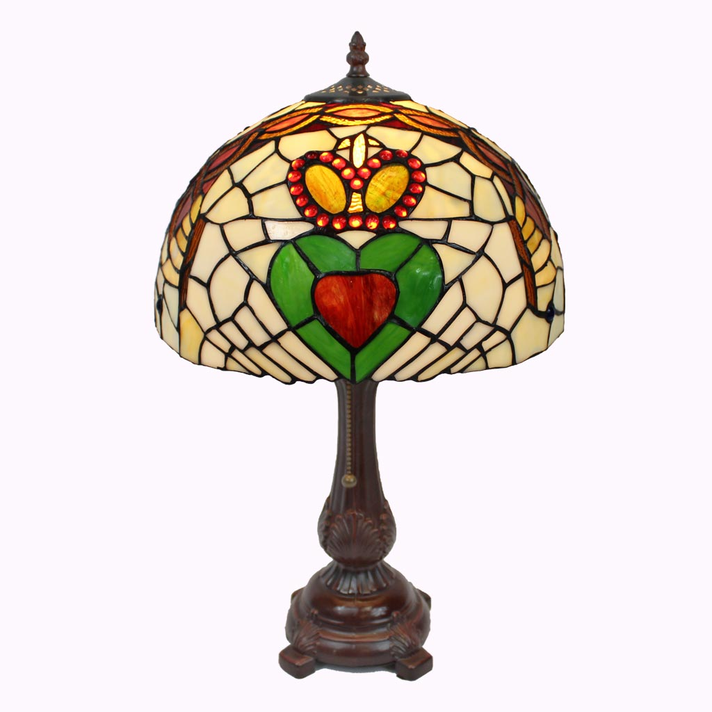 Claddagh Tiffany Table Lamp