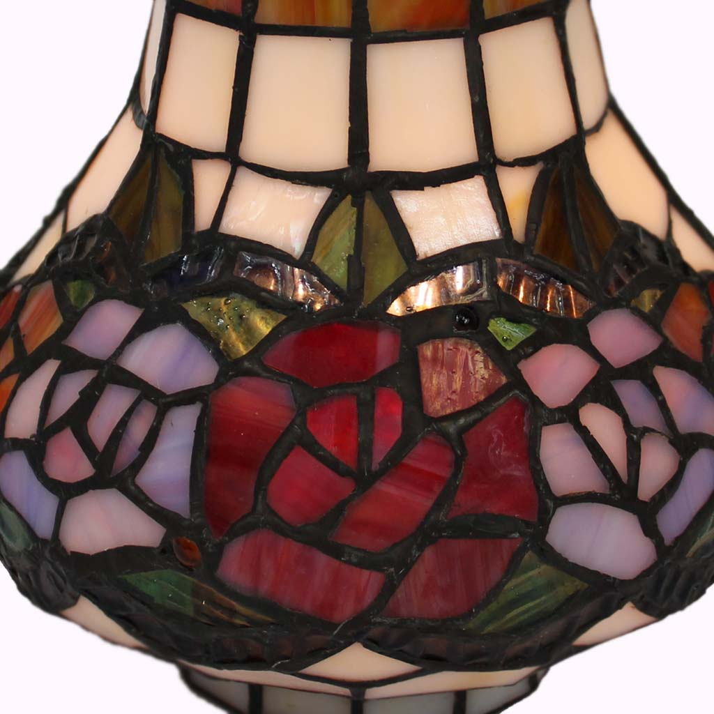 Coffee Pot Tiffany Lamp