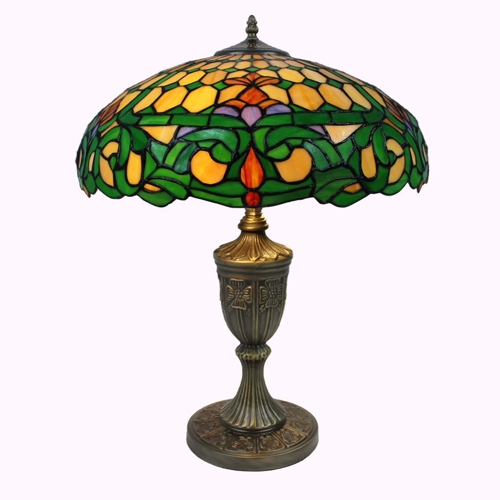 Colonial Style Table Lamps Colonial Tiffany Table Lamp