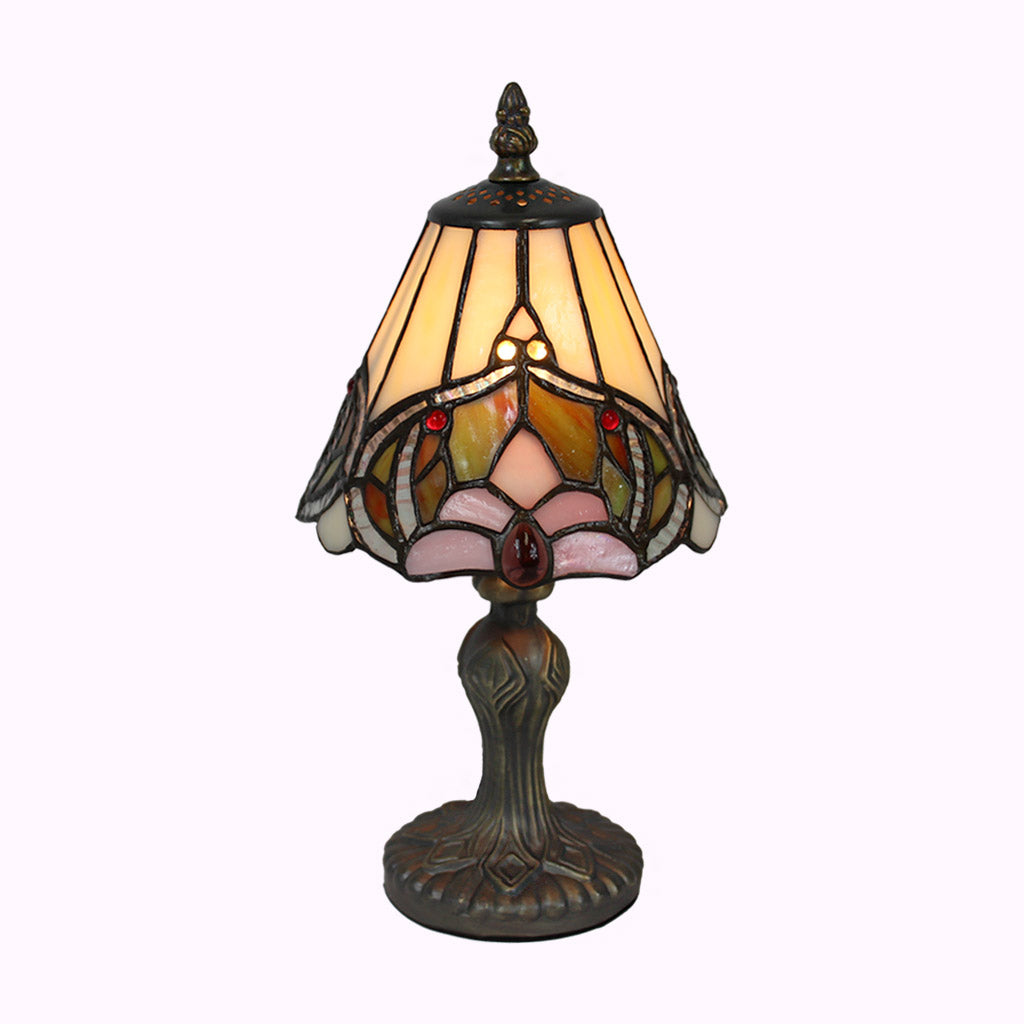 Colorful Baroque Accent Lamp