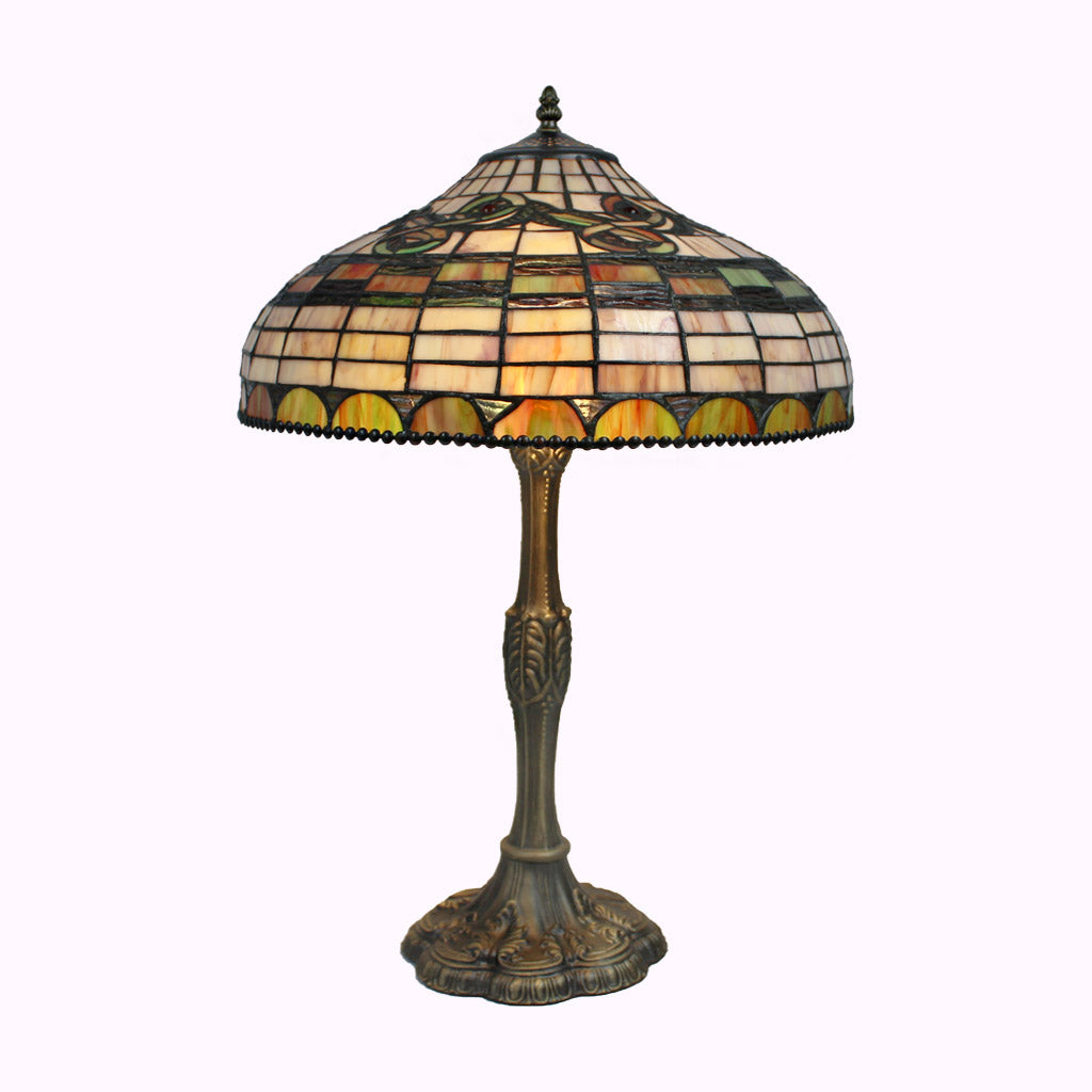 Edwardian Tiffany Table Lamp - Large