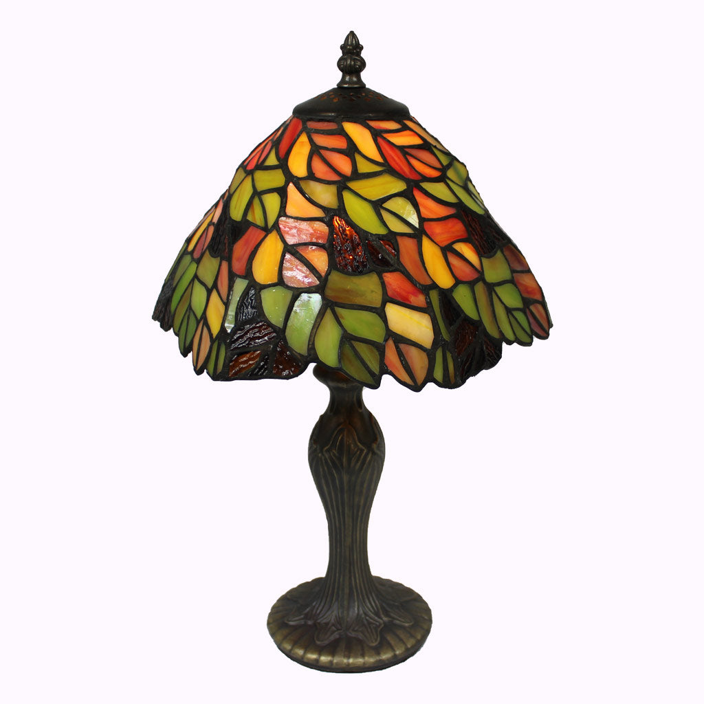 Fall Foliage Tiffany Table Lamp