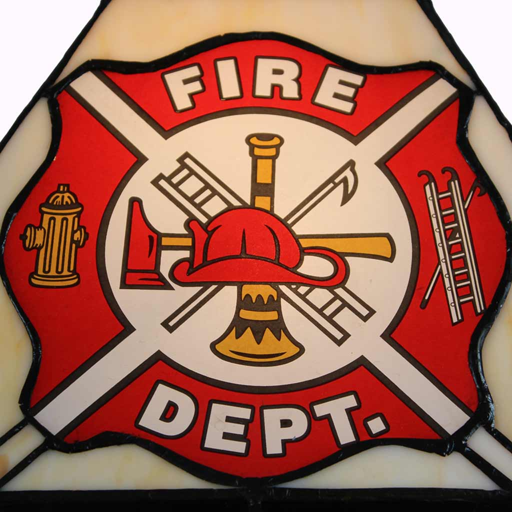 Firefighters Mission Table Lamp